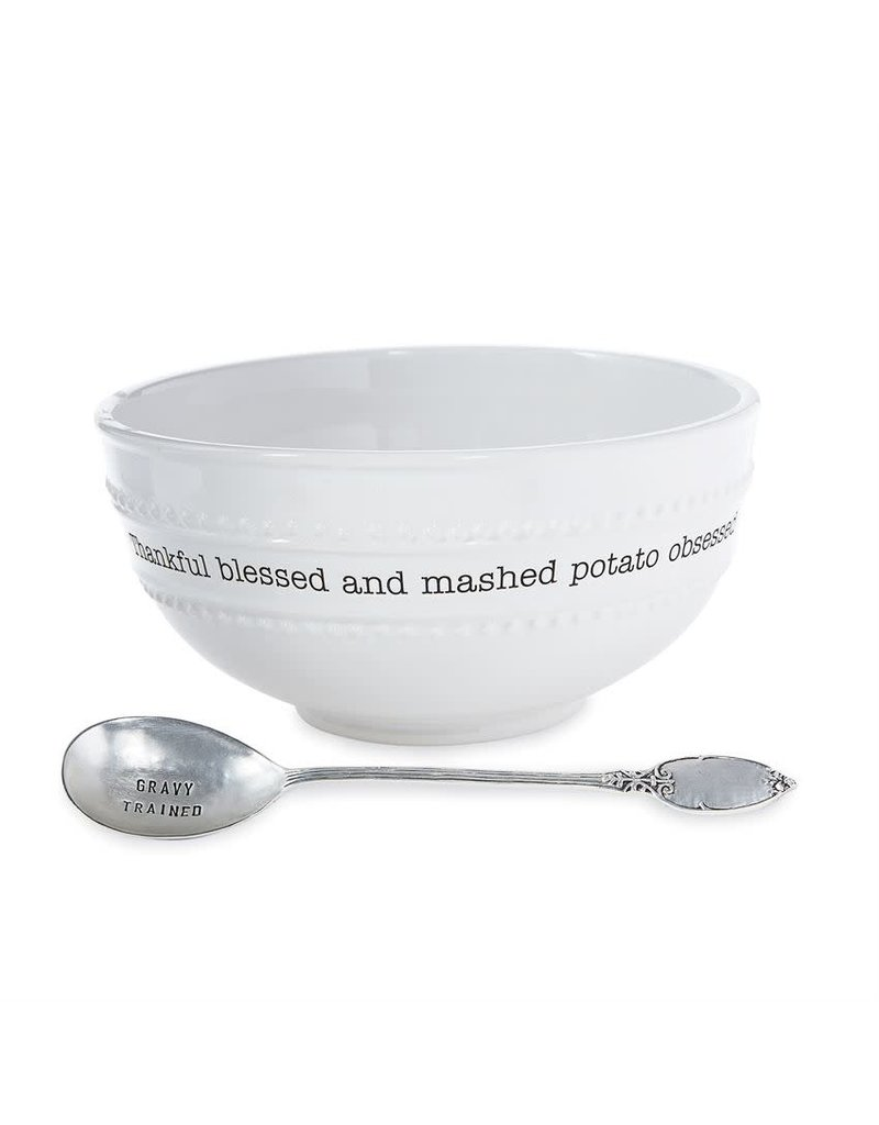 Mud Pie Circa Mashed Potato Bowl Set