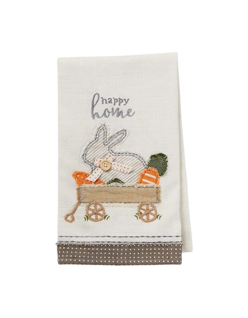 Applique Towel Bunny Wagon