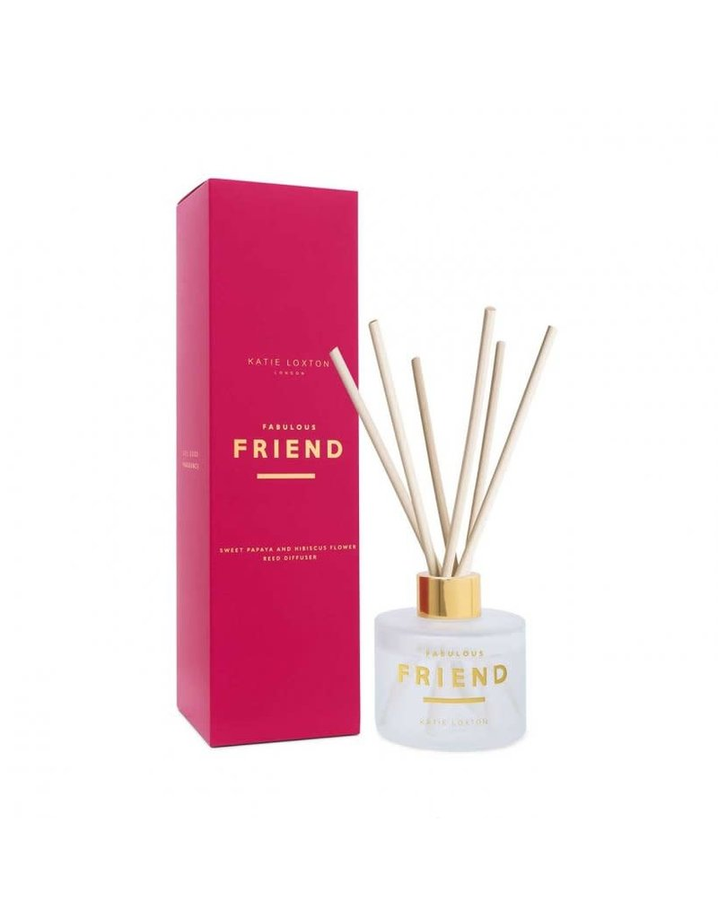 Katie Loxton Katie Loxton Sentiment Reed Diffuser Fabulous Friend Sweet Papaya and Hibiscus