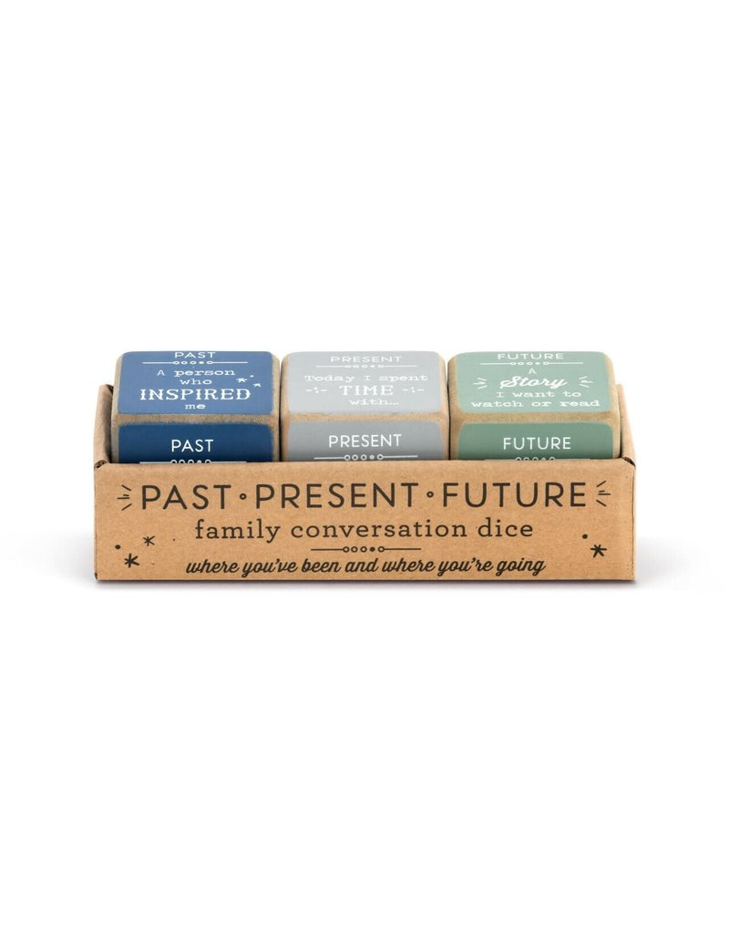 Demdaco Family Past, Present and Future Dice Set
