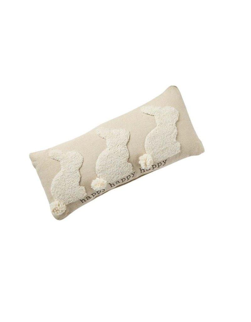 Hook Pillow Three Bunnies