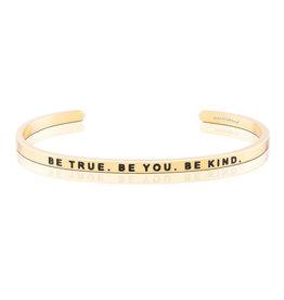 MantraBand Bracelet Be True- Gold