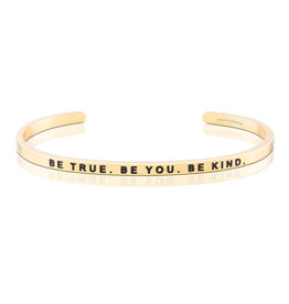 MantraBand MantraBand Bracelet Be True- Gold