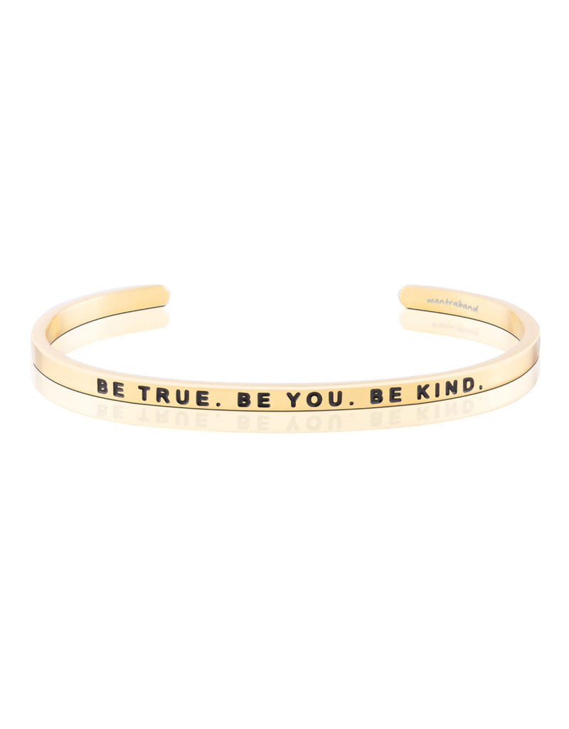MantraBand Bracelet Be True- Gold