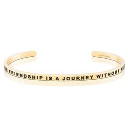 MantraBand Bracelet True Friendship- Gold