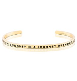 MantraBand MantraBand Bracelet True Friendship- Gold