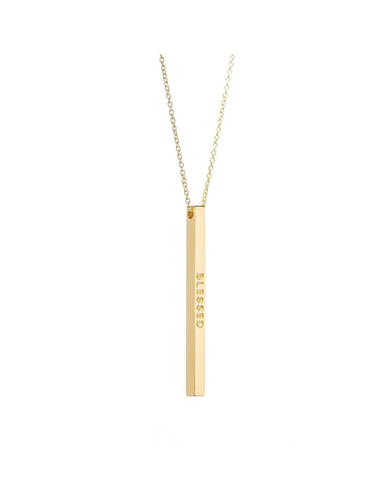 MantraBand Necklace Blessed- Gold