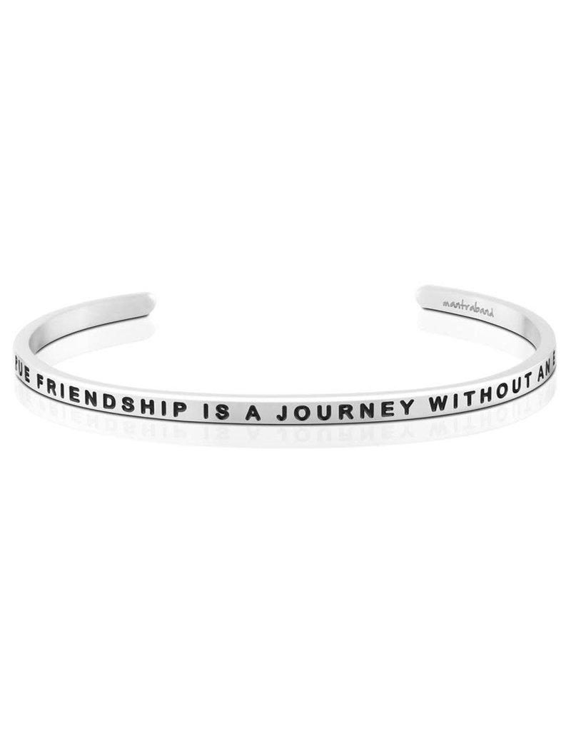 MantraBand Bracelet True Friendship- Silver