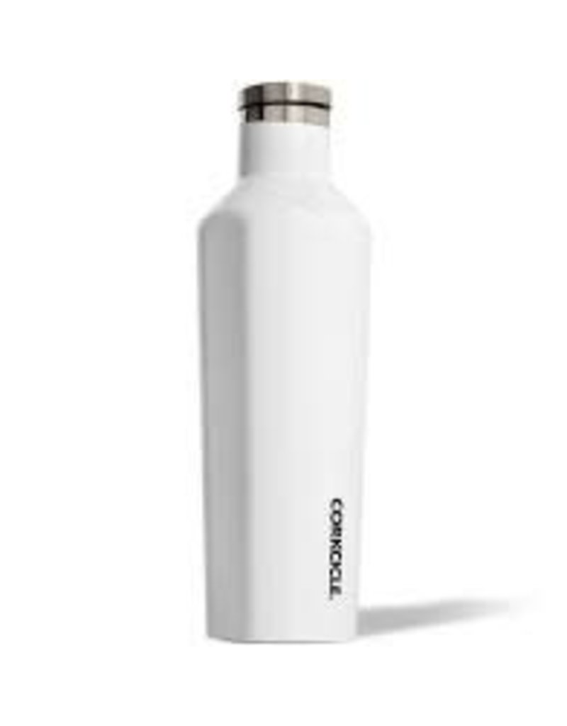Corkcicle Corkcicle Canteen- 16oz Gloss White