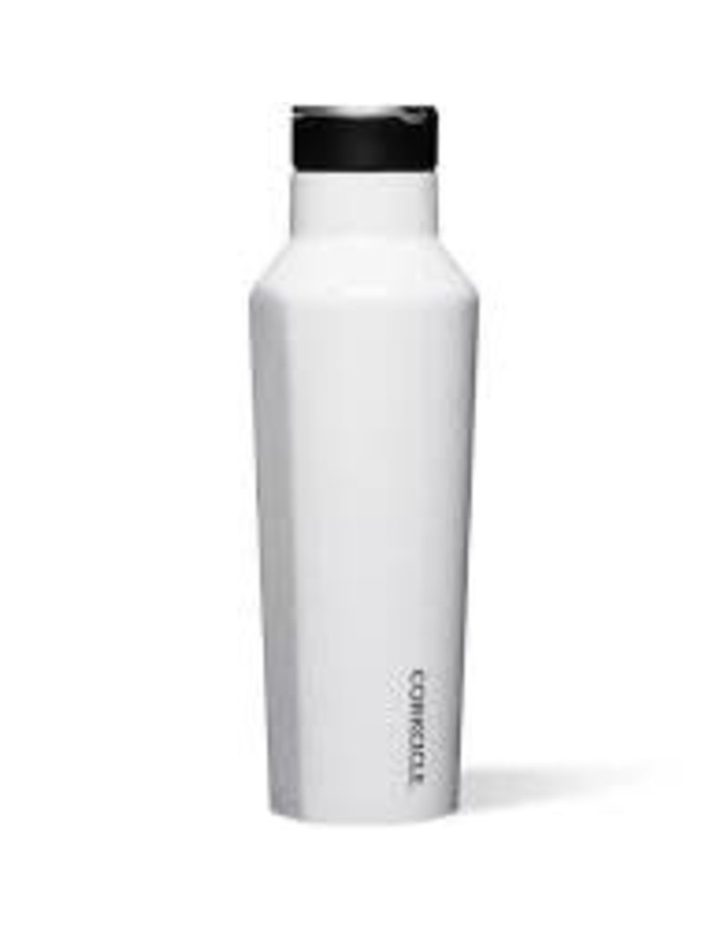 Corkcicle Corkcicle Sport Canteen- 20oz Gloss White