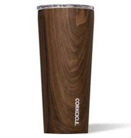 Corkcicle Tumbler- 24oz Walnut Wood