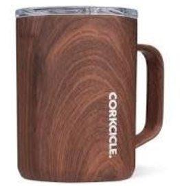 Corkcicle Corkcicle Mug- 16oz Walnut Wood