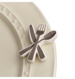 Nora Fleming Nora Fleming Attachment Bon Appetit Silverware