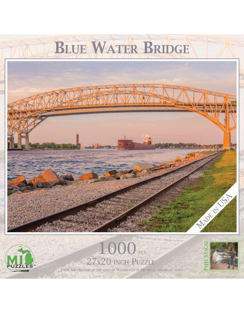 1000 Pc Puzzle Blue Water Bridge