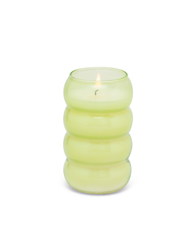Paddywax Realm 12oz Bubble Candle Green- Bamboo