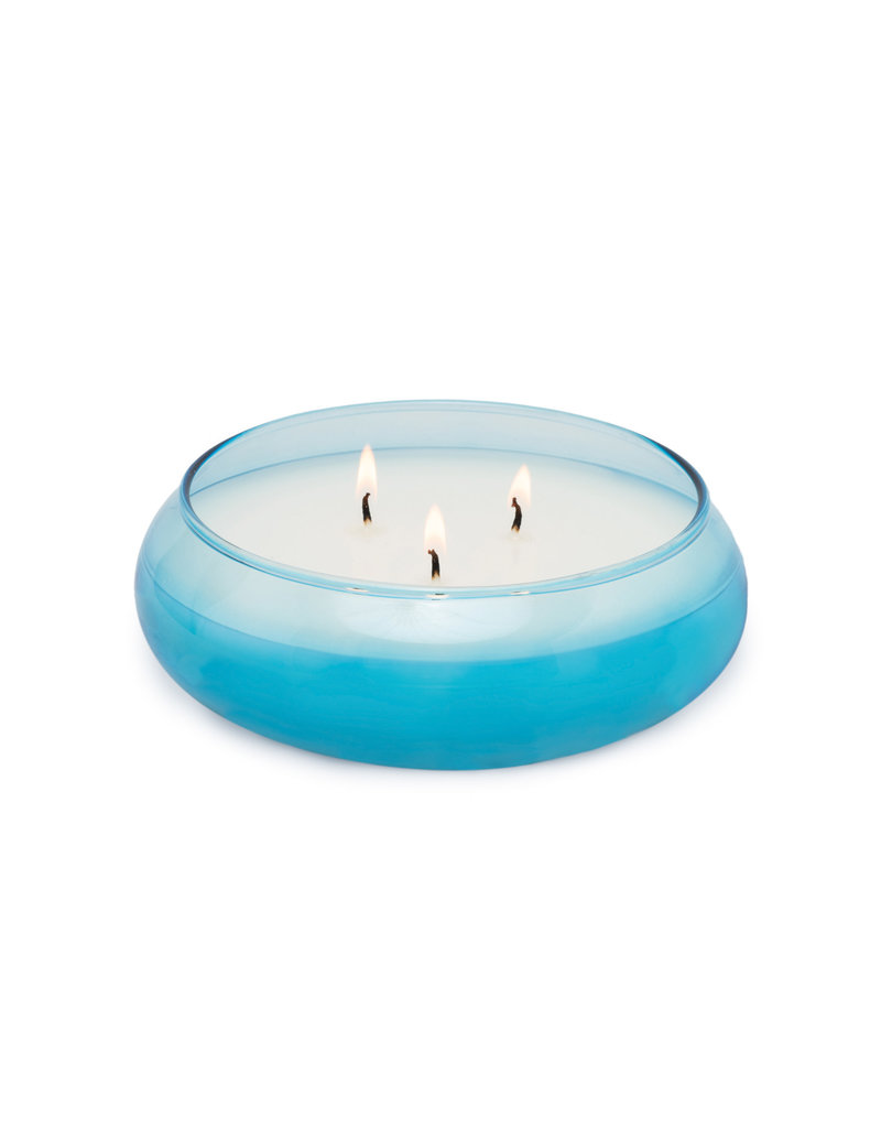 Paddywax Realm 13.5oz Bowl Candle Blue- Haze