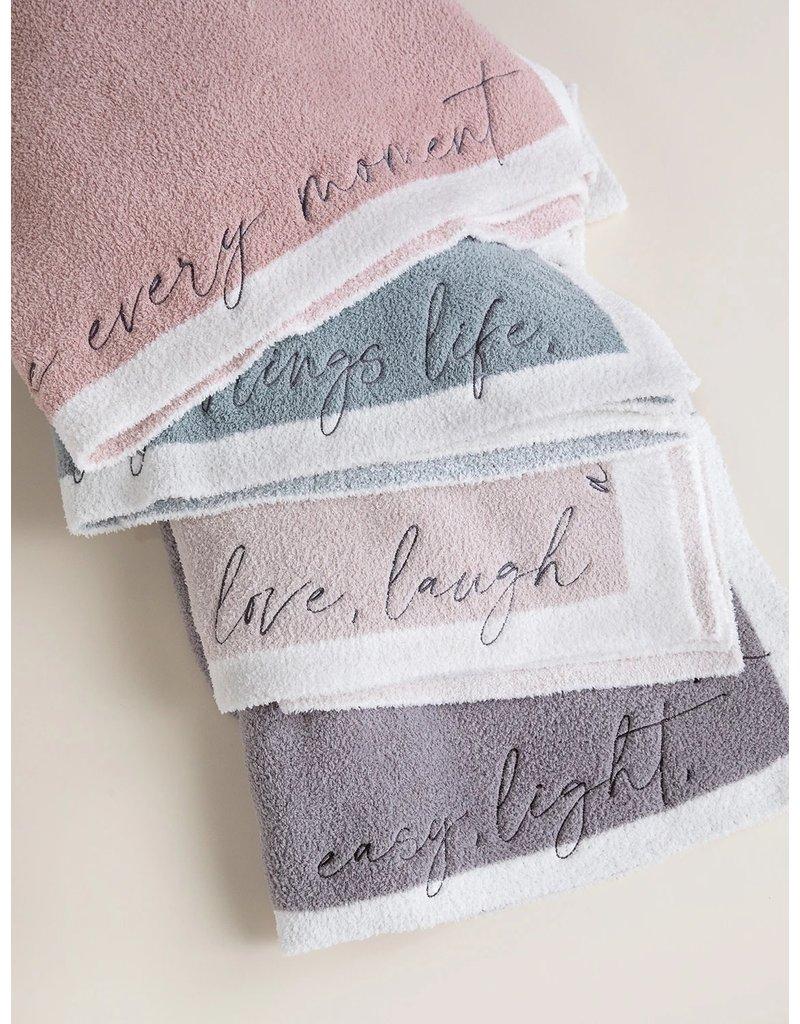 Barefoot Dreams Barefoot Dreams Cozychic Inspiration Blanket Rose Mist