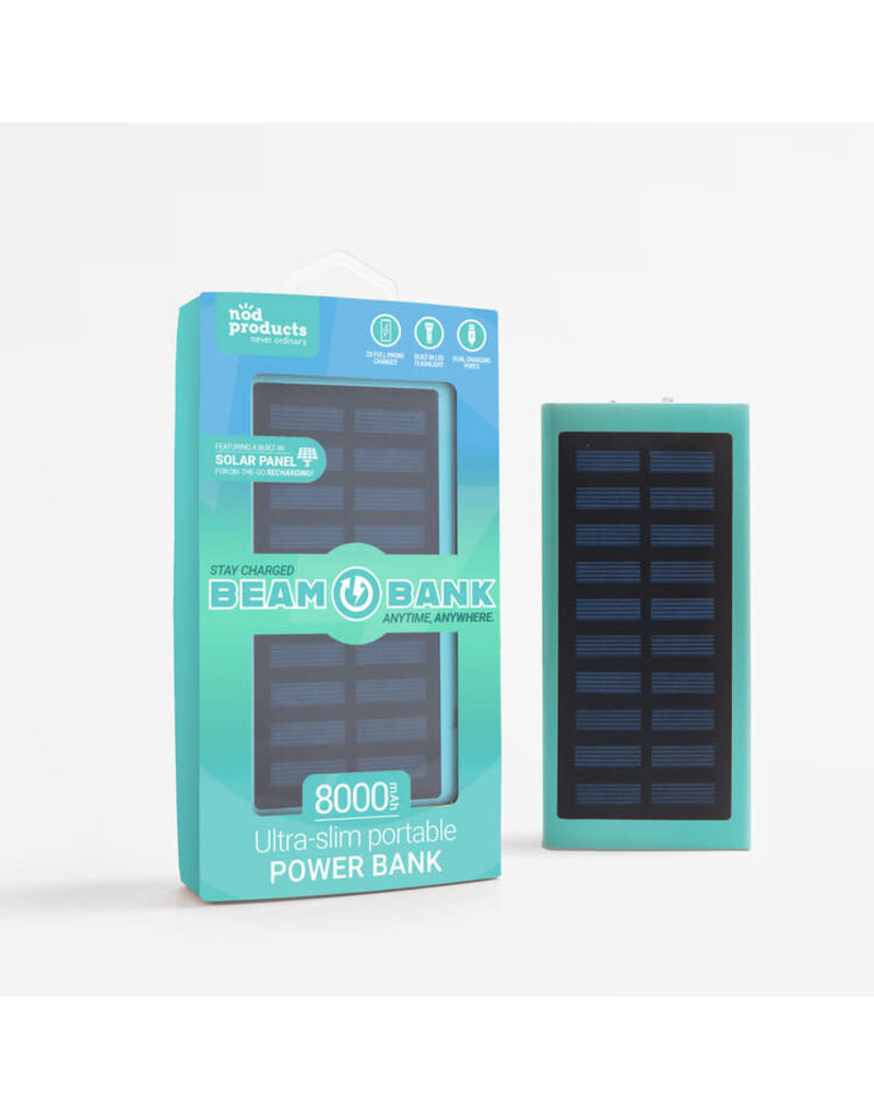 Solar Beam Bank Charger