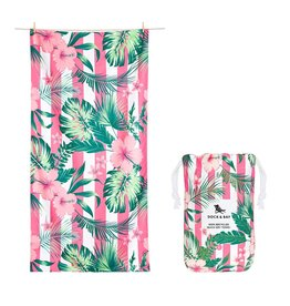 Quick Dry Towel XLG Hibiscus