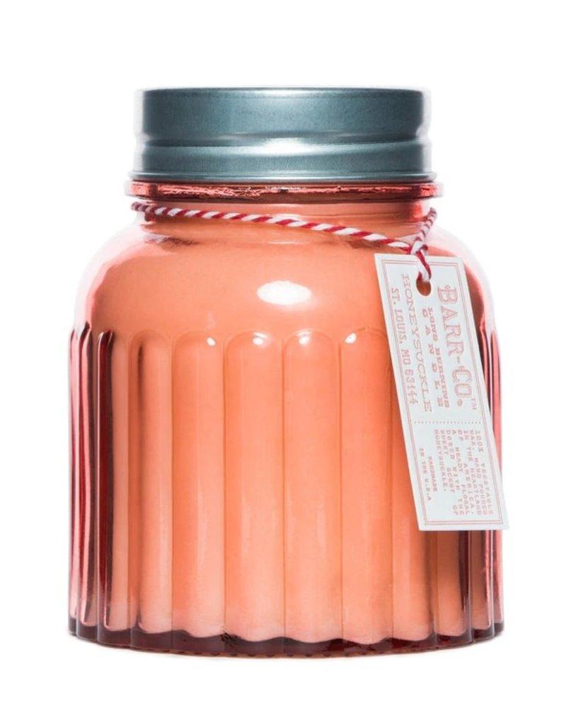 Barr-Co. Barr-Co. Apothecary Jar Candle Honeysuckle