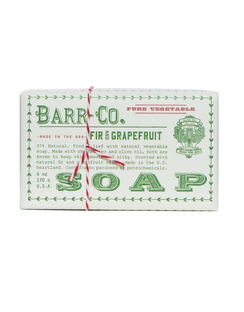 Barr-Co. Barr-Co. Paper Wrap Bar Soap 6oz Fir/Grapefruit