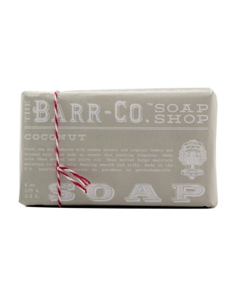 Barr-Co. Barr-Co. Paper Wrap Bar Soap 6oz Coconut