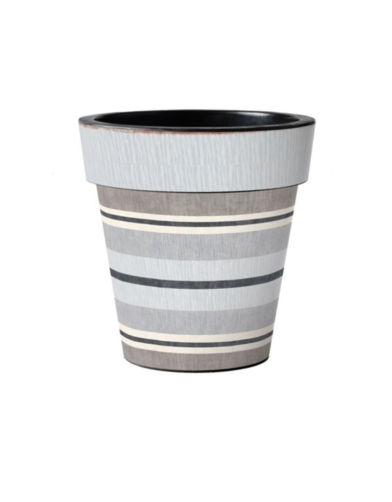 "Art Planter Medium 15""Broad Stripes - Cape"