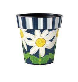 "Art Planter Large 18"" Daisy Blues"