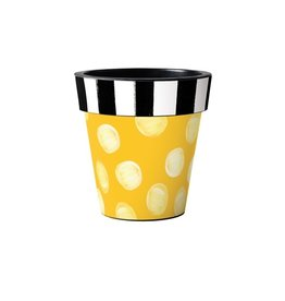 "Art Planter Small 12"" Pop of Yellow"