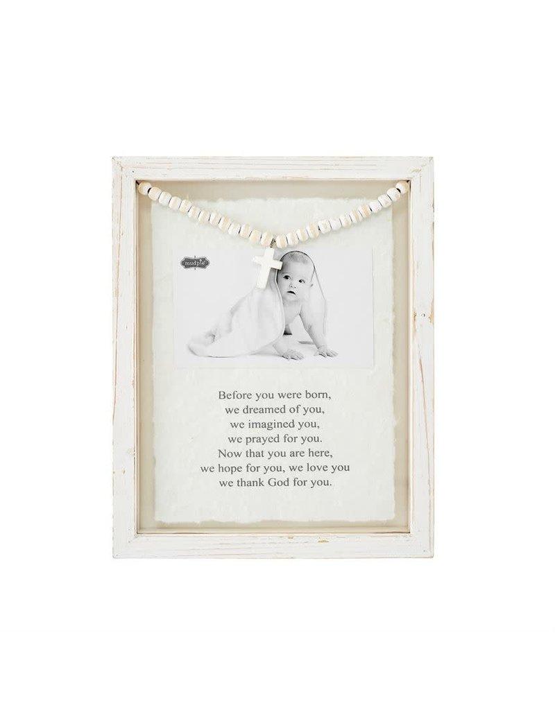 Mud Pie Frame Glass Baby Prayer