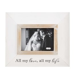 Mud Pie Frame Wood All My Love