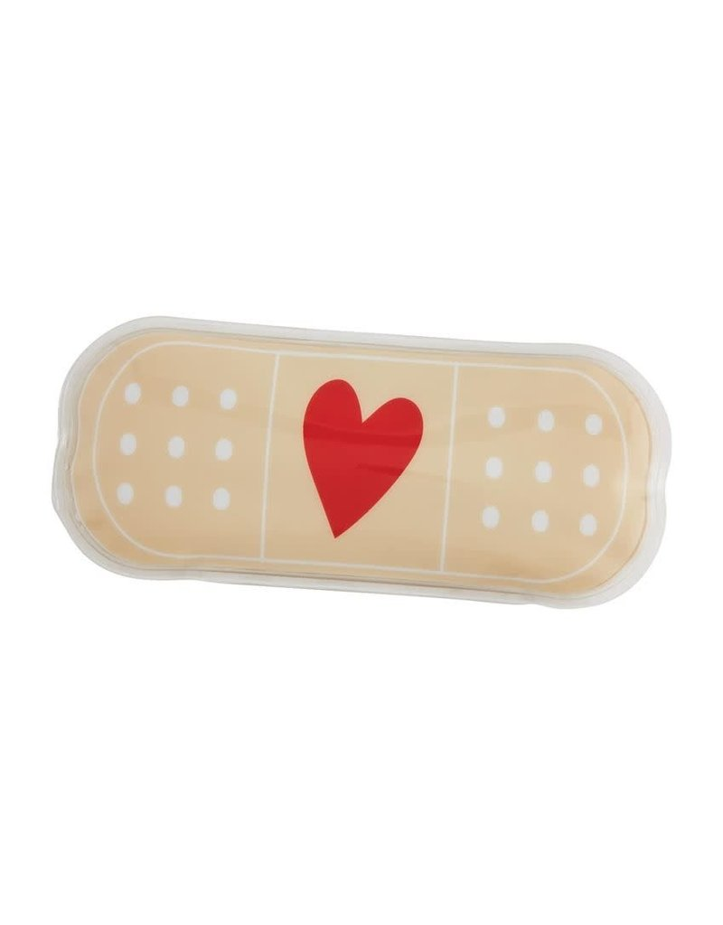 Mud Pie Band Aid Ouch Pouch Tan