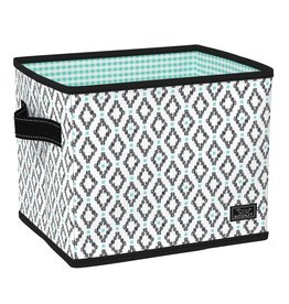 Scout Hang-10 Bin Teal Diamond