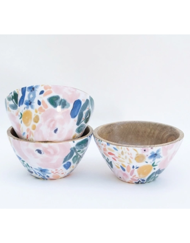 Mary Square Enchanted Garden Set of 3 Bowls