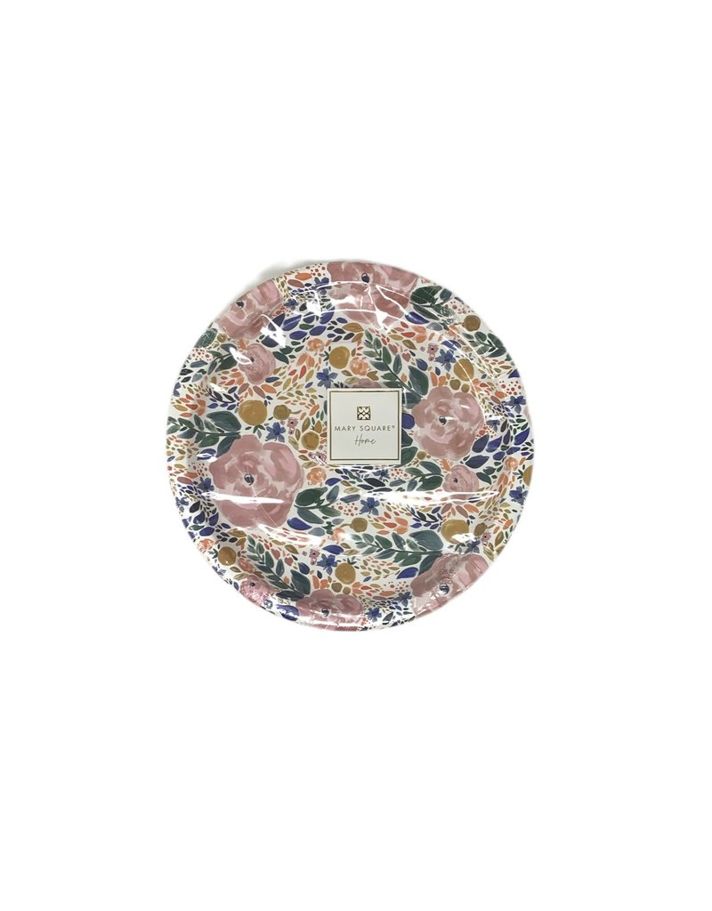 """Mary Square Enchanted Garden Paper Plate 10"""""""