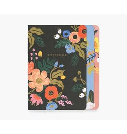 Rifle Paper Co Rifle Notebook Lively Floral Set of 3