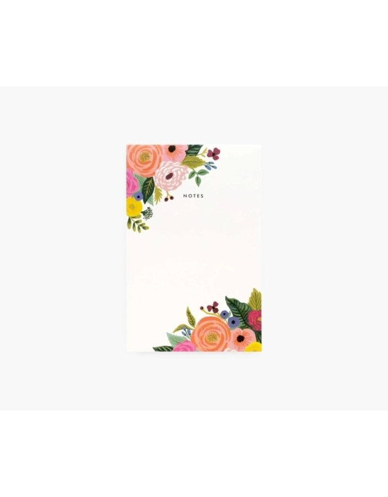 Rifle Paper Co Rifle Notepad Juliet Rose