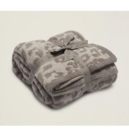 Barefoot Dreams Barefoot Dreams Cozychic BITW Adult Throw Linen and Warm Grey