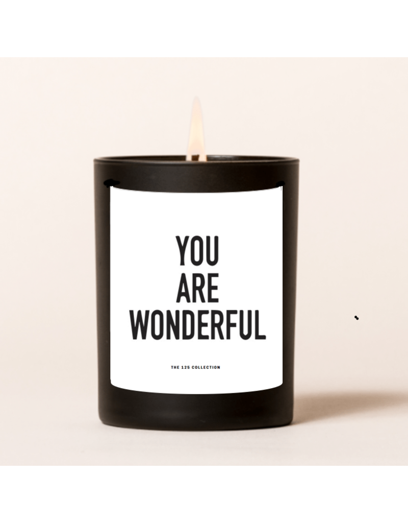 The 125 Collection Boxed Candle- You Are Wonderful