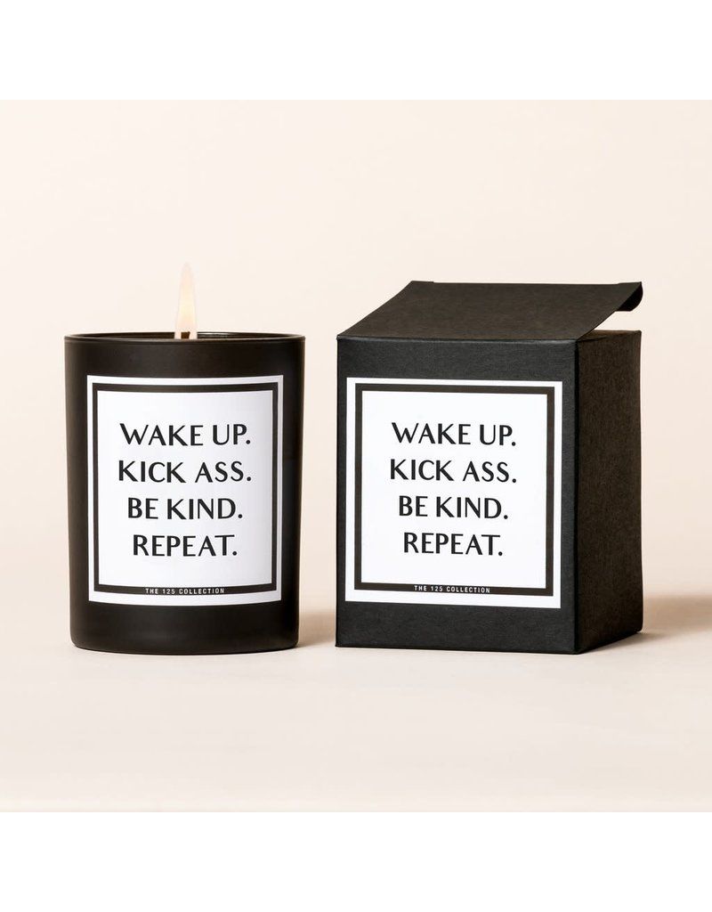 The 125 Collection Boxed Candle- Wake Up, Repeat