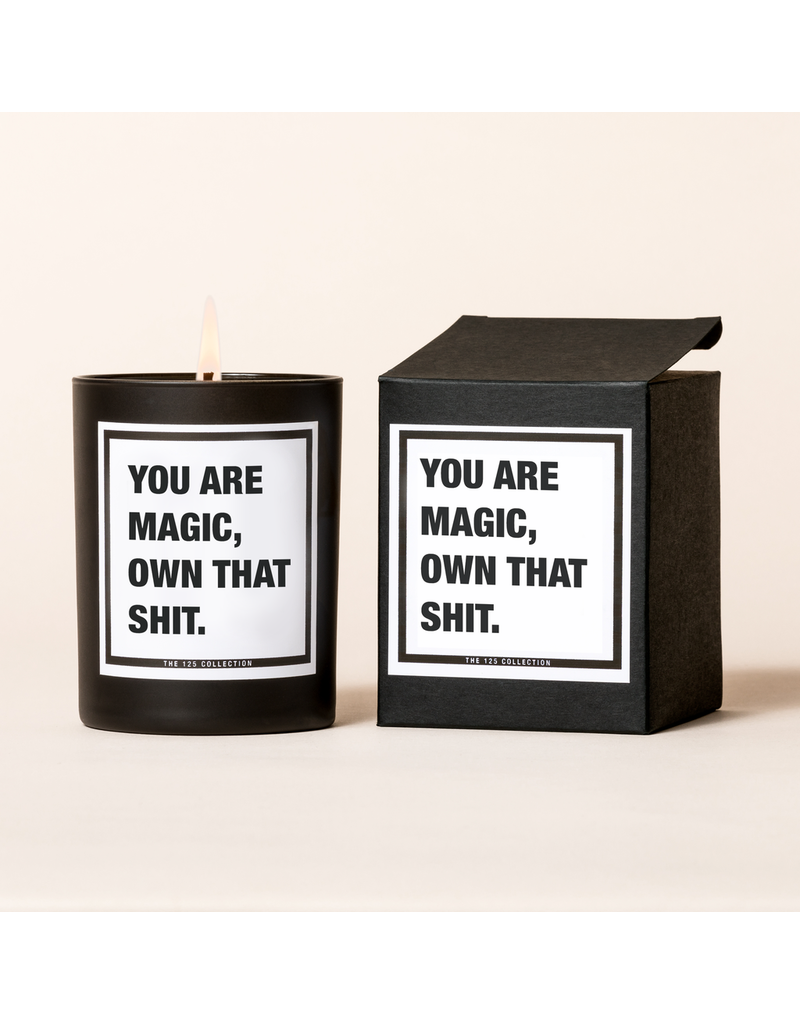 The 125 Collection Boxed Candle- You Are Magic