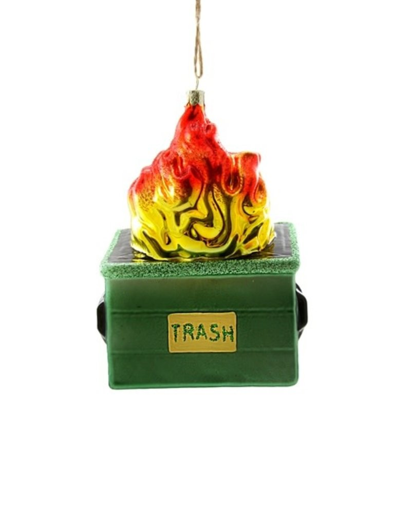 Cody Foster Ornament Dumpster Fire