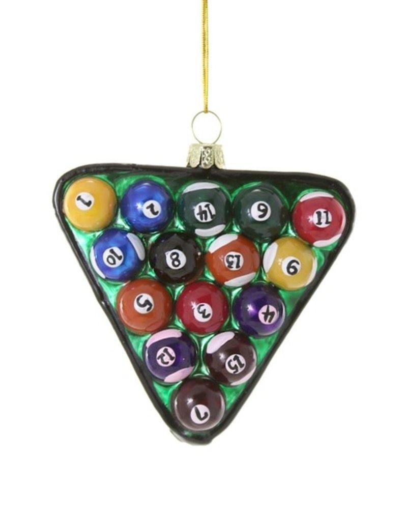 Cody Foster Ornament Billard Balls