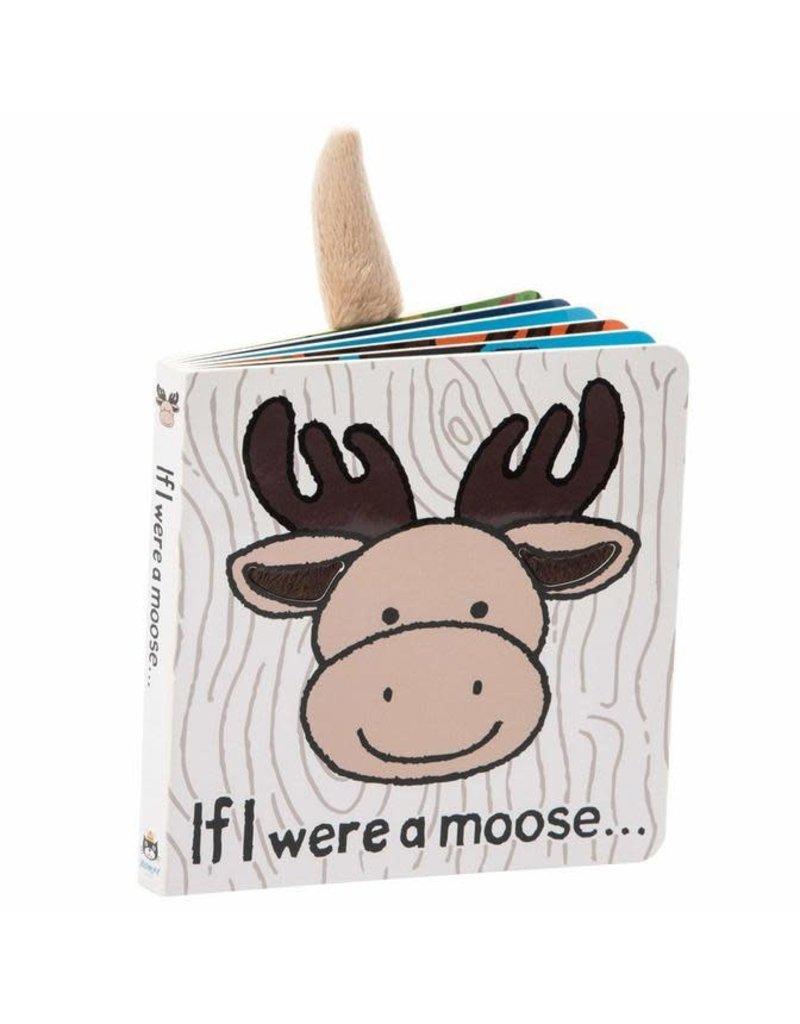 Jellycat Book- If I Were a Moose