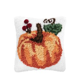 Pillow Small Hooked Pumpkin