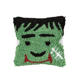 Pillow Small Hooked Frankenstein