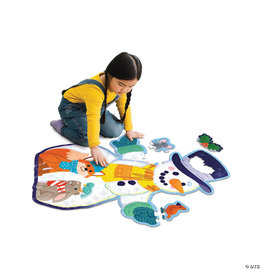 Floor Puzzle Winter Snowman