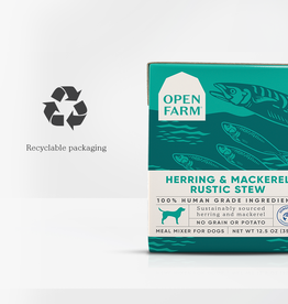 Open Farm Open Farm Rustic Stew GF Herring & Mackerel 12.5oz