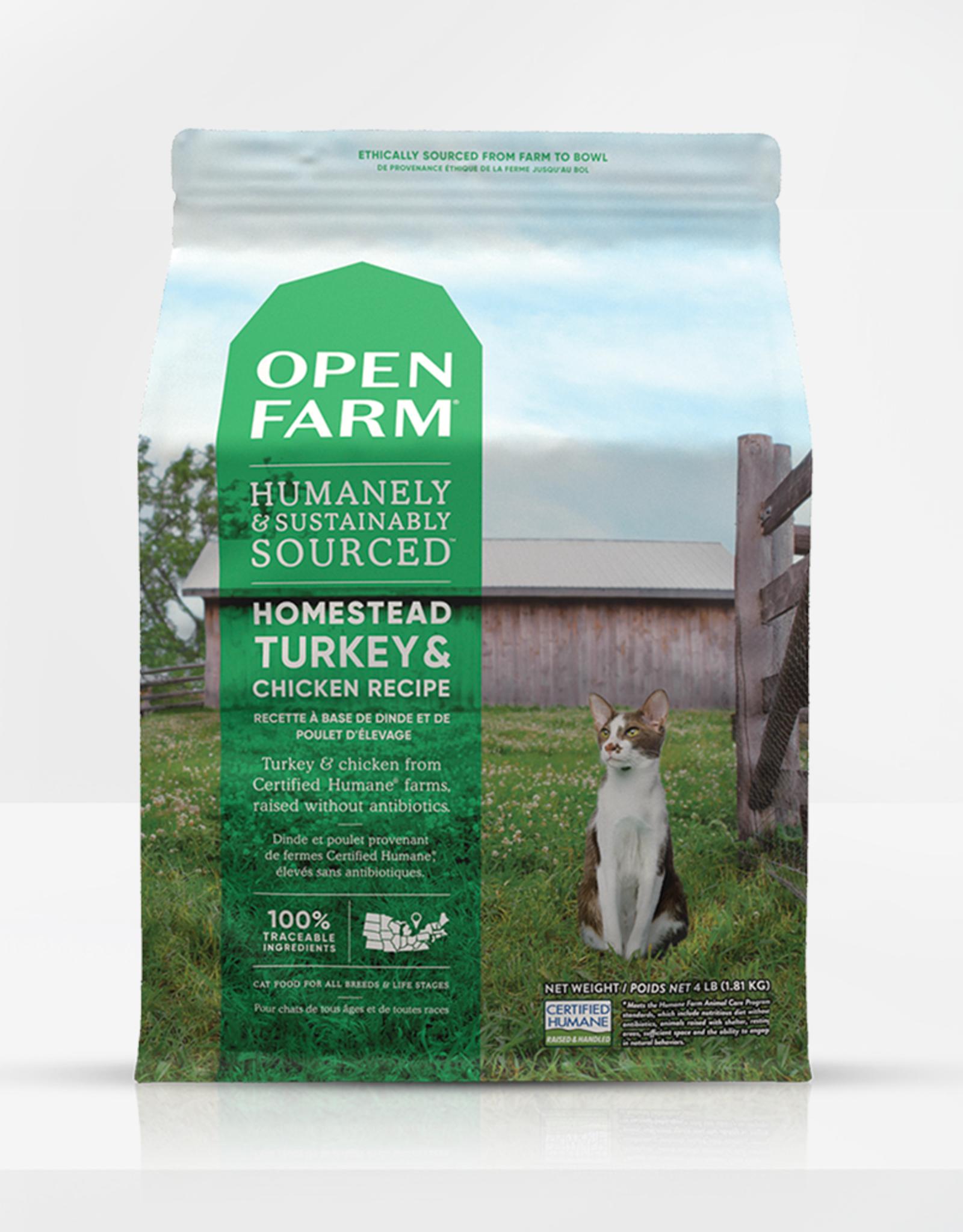 Open Farm Open Farm \ Cat \ Dry \ Turkey & Chicken 4 lbs