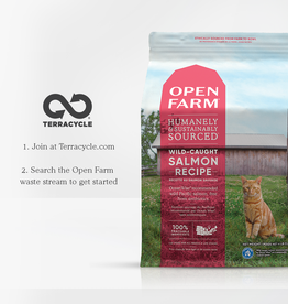 Open Farm Open Farm \ Cat \ Dry \ Wild Salmon 4 lbs